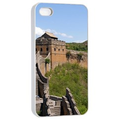Great Wall Of China 3 Apple Iphone 4/4s Seamless Case (white)
