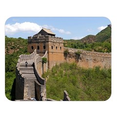 Great Wall Of China 3 Double Sided Flano Blanket (large)