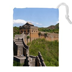 Great Wall Of China 3 Drawstring Pouches (xxl)