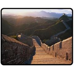 Great Wall Of China 2 Fleece Blanket (medium)