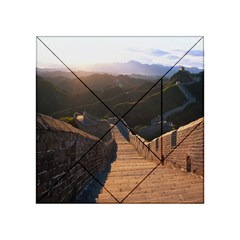 Great Wall Of China 2 Acrylic Tangram Puzzle (4  X 4 )