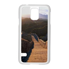Great Wall Of China 2 Samsung Galaxy S5 Case (white)