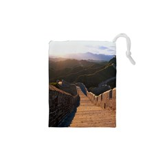 GREAT WALL OF CHINA 2 Drawstring Pouches (XS)