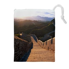 GREAT WALL OF CHINA 2 Drawstring Pouches (Extra Large)