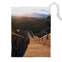 GREAT WALL OF CHINA 2 Drawstring Pouches (XXL)