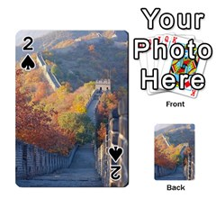 Great Wall Of China 1 Playing Cards 54 Designs