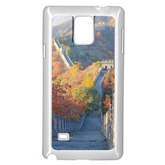 Great Wall Of China 1 Samsung Galaxy Note 4 Case (white)