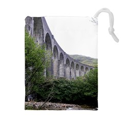 GLENFINNAN VIADUCT 2 Drawstring Pouches (Extra Large)