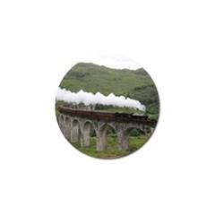 Glenfinnan Viaduct 1 Golf Ball Marker (4 Pack)