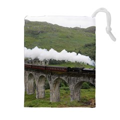 GLENFINNAN VIADUCT 1 Drawstring Pouches (Extra Large)