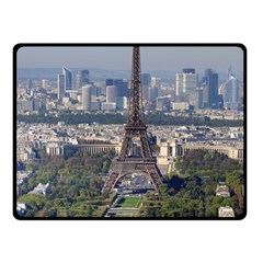 Eiffel Tower 2 Fleece Blanket (small)