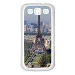 EIFFEL TOWER 2 Samsung Galaxy S3 Back Case (White) Front