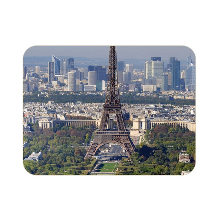 EIFFEL TOWER 2 Double Sided Flano Blanket (Mini)