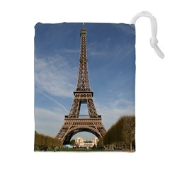 Eiffel Tower Drawstring Pouches (extra Large)