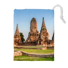 CHAIWATTHANARAM Drawstring Pouches (Extra Large)