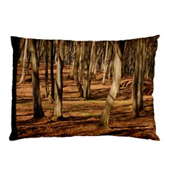 Wood Shadows Pillow Cases