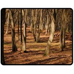Wood Shadows Fleece Blanket (medium)
