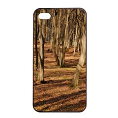 Wood Shadows Apple Iphone 4/4s Seamless Case (black)