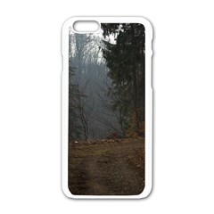 Twilight Road Apple Iphone 6/6s White Enamel Case