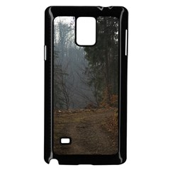 Twilight Road Samsung Galaxy Note 4 Case (black)