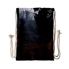 Twilight Road Drawstring Bag (small)