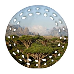 Socotra, Yemen Ornament (round Filigree)