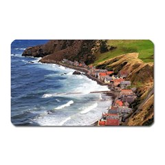 Scotland Crovie Magnet (rectangular)