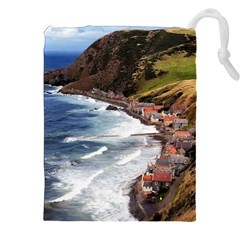 SCOTLAND CROVIE Drawstring Pouches (XXL)