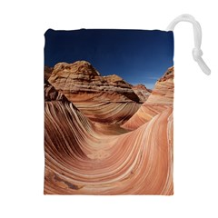 Petrified Sand Dunes Drawstring Pouches (Extra Large)