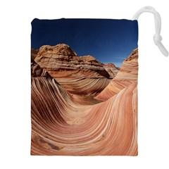 Petrified Sand Dunes Drawstring Pouches (XXL)