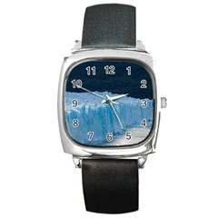 Perito Moreno Glacier Square Metal Watches