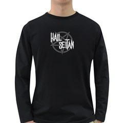 Hail Seitan Long Sleeve Dark T Shirts