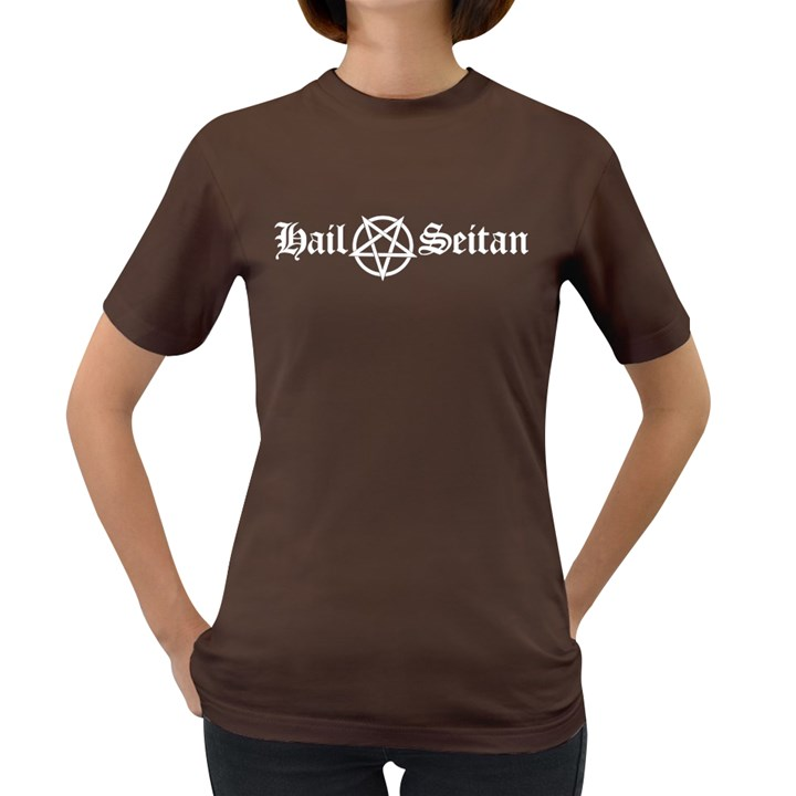 Hail Seitan Women s Dark T-Shirt
