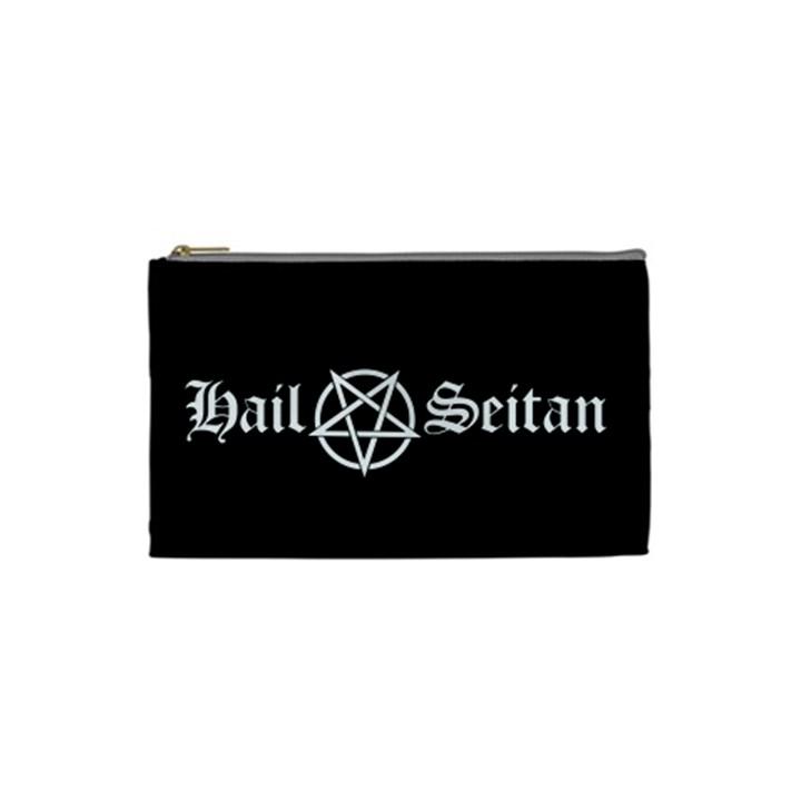 Hail Seitan Cosmetic Bag (Small)