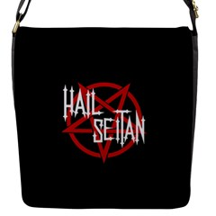 Hail Seitan Flap Messenger Bag (s)