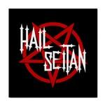 Hail Seitan Tile Coasters Front