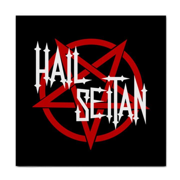 Hail Seitan Tile Coasters