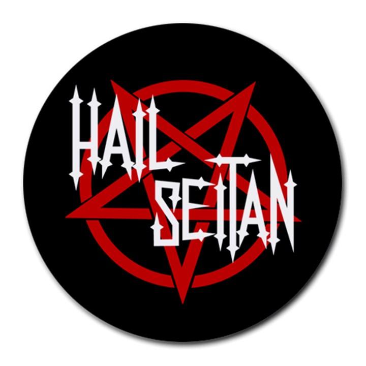 Hail Seitan Round Mousepads