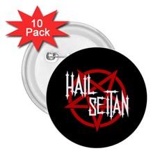 Hail Seitan 2 25  Buttons (10 Pack)