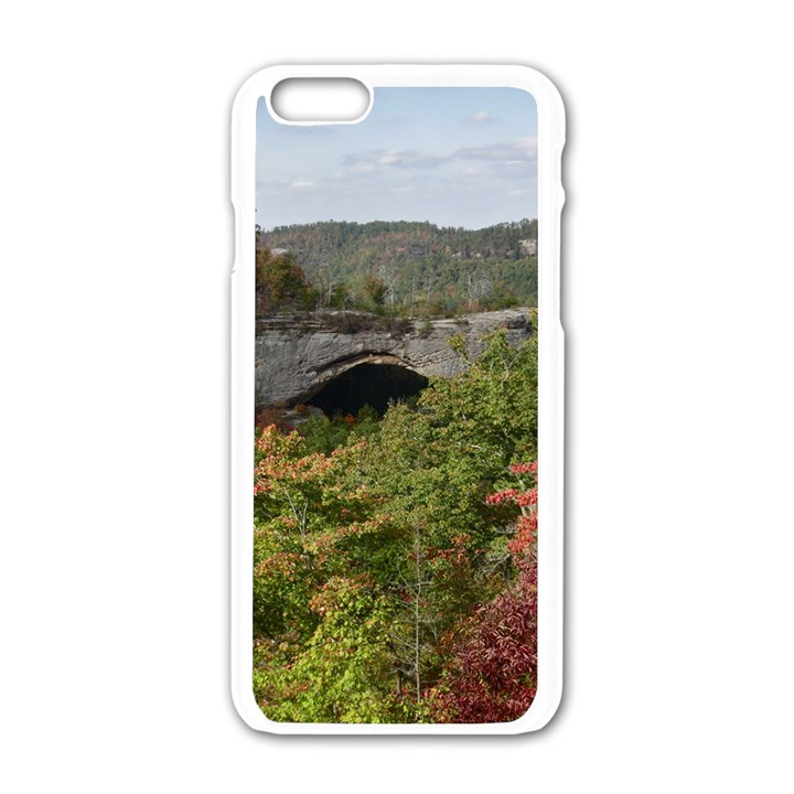 NATURAL ARCH Apple iPhone 6/6S White Enamel Case