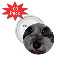 The Schnauzer 1.75  Buttons (100 pack)