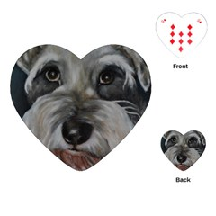 The Schnauzer Playing Cards (Heart)