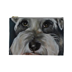 The Schnauzer Cosmetic Bag (Large)