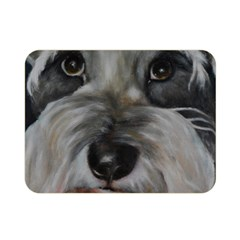 The Schnauzer Double Sided Flano Blanket (mini)