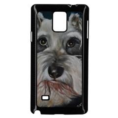 The Schnauzer Samsung Galaxy Note 4 Case (Black)