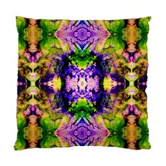 Green,purple Yellow ,goa Pattern Standard Cushion Cases (two Sides)