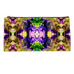Green,purple Yellow ,goa Pattern Pencil Cases