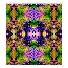 Green,purple Yellow ,goa Pattern Shower Curtain 66  X 72  (large)