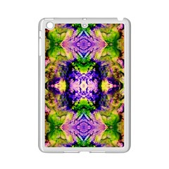 Green,purple Yellow ,goa Pattern Ipad Mini 2 Enamel Coated Cases