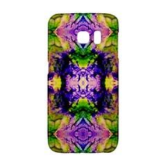Green,purple Yellow ,goa Pattern Galaxy S6 Edge